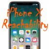 【iPhone X】片手でコントロールセンターを開ける!画面上半分を下げる「簡易アクセス(Reachability)」設定方法と使い方