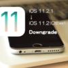iOS 11.2.1をiOS 11.2(またはiOS 11.1.1,iOS 11.1.2)にダウングレードする方法