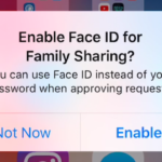 iOS 11.3では、親がFace IDを使用して家族の購入を承認できるようになります。