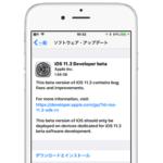 Apple、iOS 11.3 Beta 1を開発者向けにリリース。