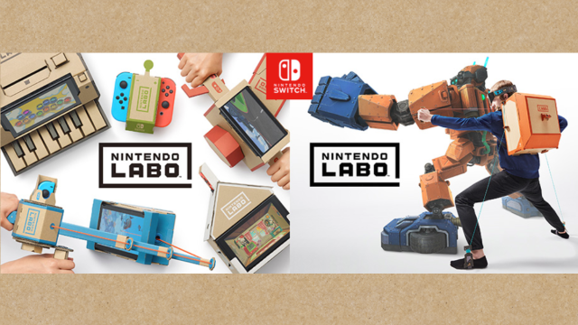 【Nintendo Switch(ニンテンドースイッチ)】新商品「Nintendo Labo(ニンテンドーラボ)」の発売が決定!