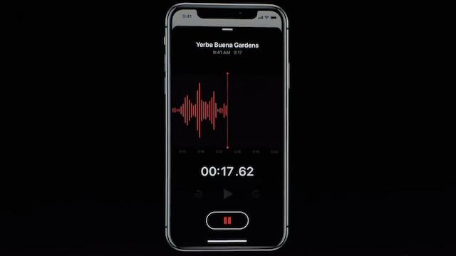 "【iOS 12】「ボイスメモ」大幅にリニューアルで音声品質を""高品質""に録音する方法は?"