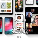 iOS 12.1をiOS 12.0.1にダウングレードする方法