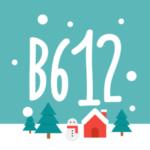 「B612 – いつもの毎日をもっと楽しく 7.10.1」iOS向け最新版をリリース。アプリアイコンが雪だるまの冬景色に