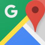 「Google マップ –  乗換案内 & グルメ 5.7」iOS向け最新版をリリース。サンタの現在地を確認できるクリスマス仕様に