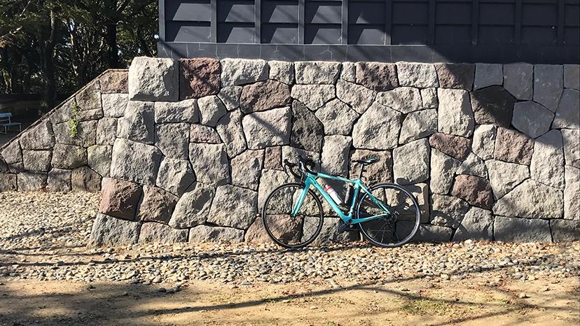 【ロードバイク】久留里城に登る【ポタリング】